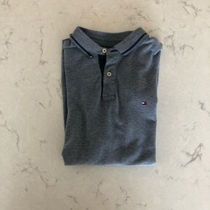 Tommy Hilfiger Men's Short Sleeve Polo Blue Size L